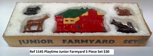 Playtime Junior Farm Yard Set (Ref 1145)