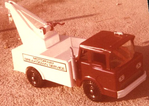 Waihi breakdown toy truck