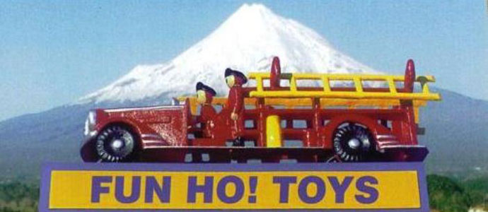 Fun Ho! Toys Fire Engine