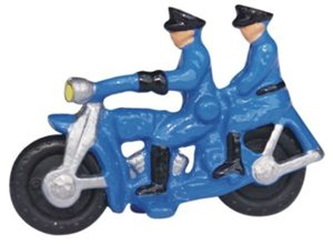 Model No 91 Motorbike and Pillion