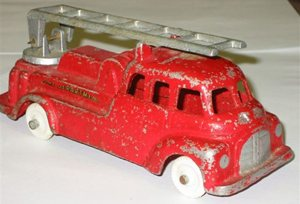Model No 518 Fire Engine Swivel Ladder (Ref 219)